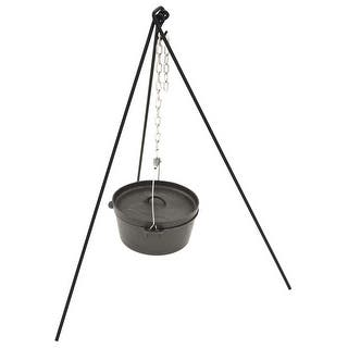 Bayou Classic 7485 Dutch Oven Tripod Stand|https://ak1.ostkcdn.com/images/products/is/images/direct/f587abe6eefd5b4c994927d05247f2e55df47b63/Bayou-Classic-7485-Dutch-Oven-Tripod-Stand.jpg?impolicy=medium