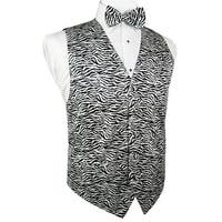 968a8e7bebd5 Shop Snow Leopard Novelty Tuxedo Vest and Tie - Free Shipping Today ...