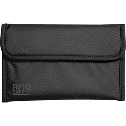 Pacsafe RFIDsafe 50-Black RFID-blocking Passport Protector