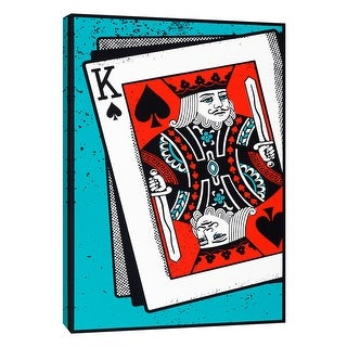 """PTM Images 9-108627  PTM Canvas Collection 10"""" x 8"""" - """"King"""" Giclee Sports and Hobbies Art Print on Canvas"""