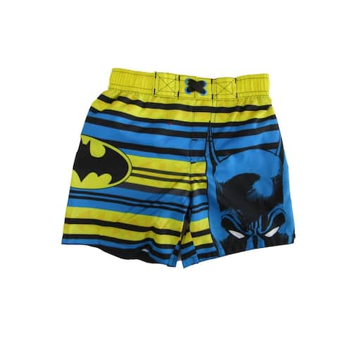 DC Comics Little Boys Blue Batman Swim Shorts