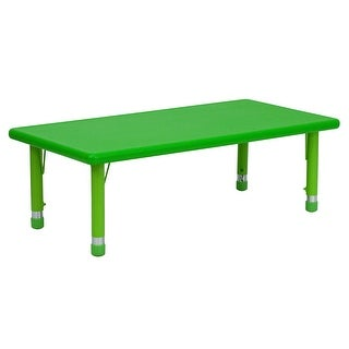 """Link to 24""""W x 48""""L Rectangular Plastic Height Adjustable Activity Table Similar Items in Kids' & Toddler Chairs"""