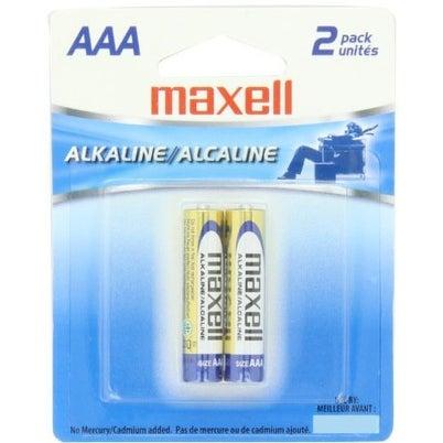 Maxell Aaa Alkaline Battery-2Pk Blister(Lr03)