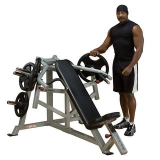 Body-Solid Leverage Incline Press - metal