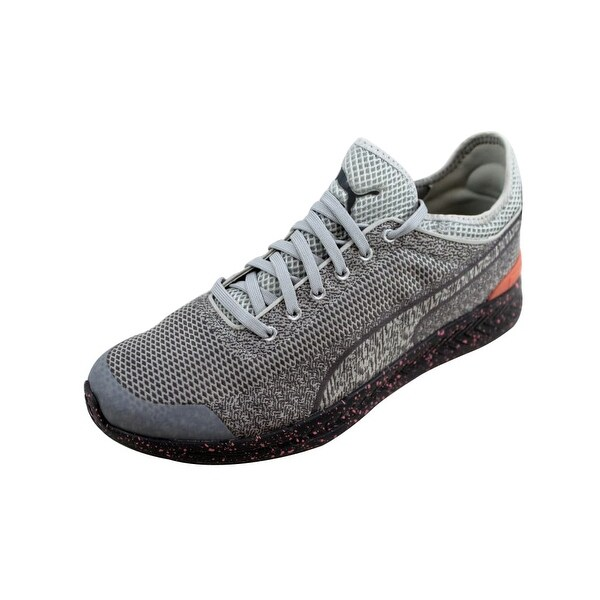 b60ad75ab75 Shop Puma Men s Ignite Sock Woven Glacier Grey Steel Grey 360897 02 ...