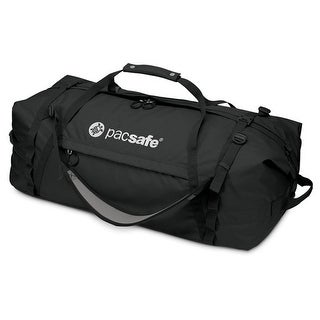 Pacsafe Duffelsafe AT100-Black Anti-Theft Adventure Duffel w/ eXomesh slashguard