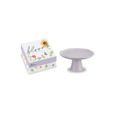 Bloom Small Pedestal Lavender