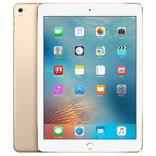 "Apple iPad Pro (128GB, Wi-Fi, Gold) 9.7"" Tablet (Certified Refurbished)"