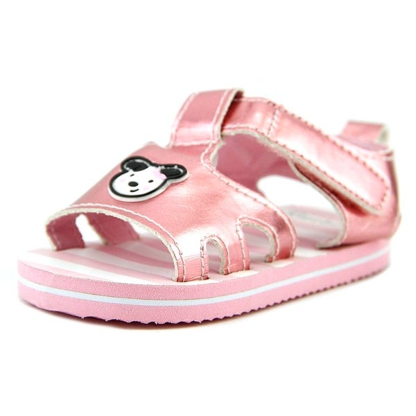 Gerber Soft-Sole Puppy Sandal Infant Open-Toe Synthetic Pink Slingback Sandal
