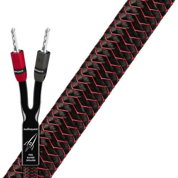 AudioQuest Rocket 33 20 ft. Speaker Cable Pair w/ 300 Series Silver Banana Plugs