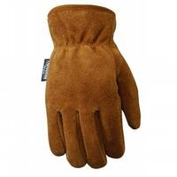 Wells Lamont 4009445 Suede Cowhide Work Gloves for Men, Large