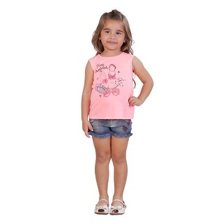 Pulla Bulla Toddler Girl Graphic Tank Top Sleeveless Tee