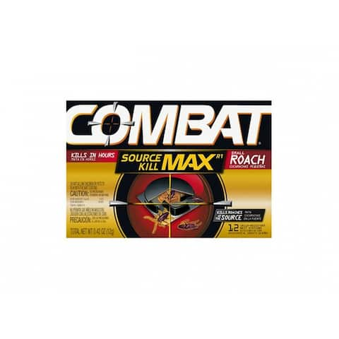 Combat 51910 Source Kill MAX for Small Roach, 12-Count