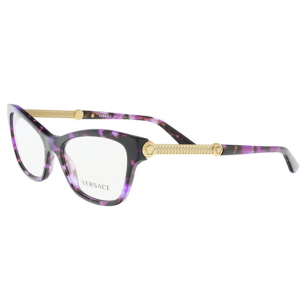 9c950b026c1 Shop Versace VE3214 5152 Violet Havana Optical Frames - 52-16-140 ...