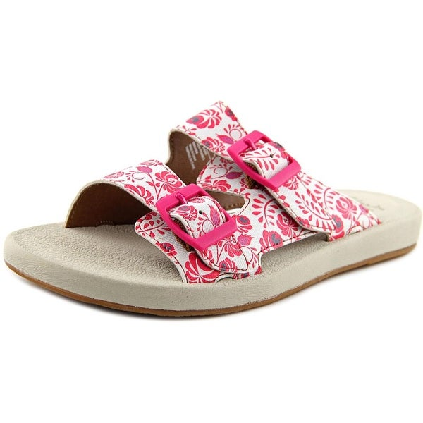 Clarks Narrative Paylor Myra Women Fuchsia Sandals
