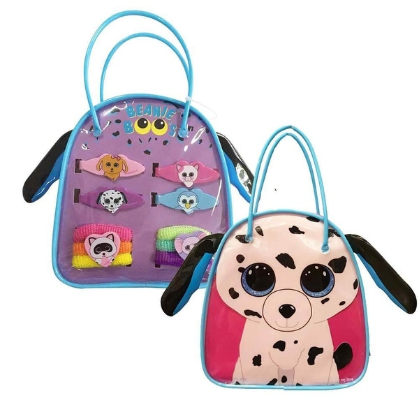 Shop Fetch The Dalmatian Beanie Boo Bag Set - Free Shipping On Orders Over   45 - Overstock - 16334010 fad6e139619