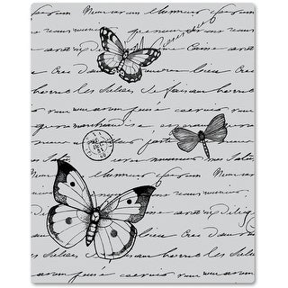 "Hero Arts Cling Stamps 4.5""X5.75""-Antique Background"