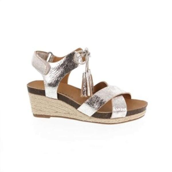 Shop Kids Lucky Brand Girls Jelessa Buckle SlingBack Wedge Sandals ... 004730d133de