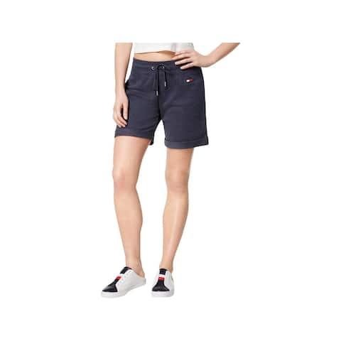 Tommy Hilfiger Sport Womens Shorts Cuffed Fitness - XL