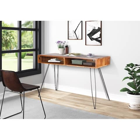 "Mitcham 48"" Reclaimed Wood Office Desk"