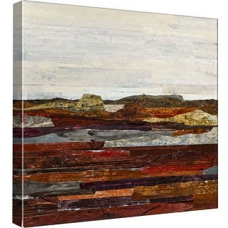 """PTM Images 9-97894  PTM Canvas Collection 12"""" x 12"""" - """"Linear Progression 5"""" Giclee Rural Art Print on Canvas"""