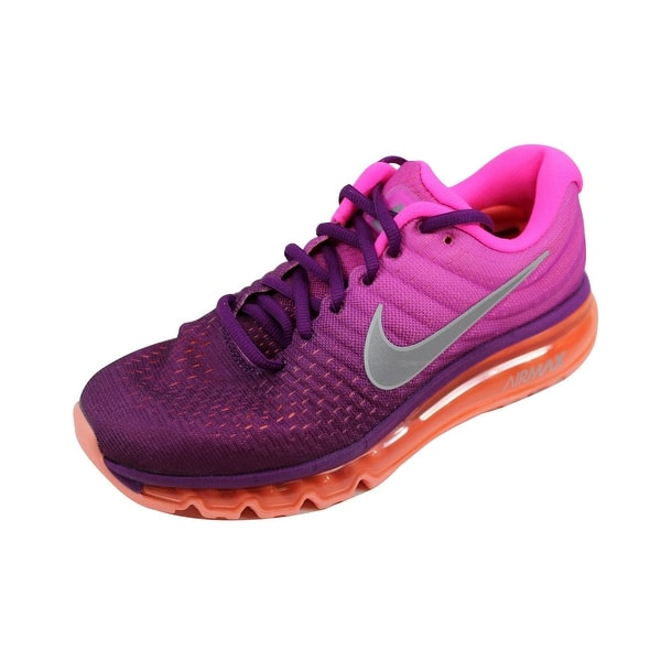professional sale the best details for Shop Nike Women's Air Max 2017 Dark Grey/Metallic Silver ...