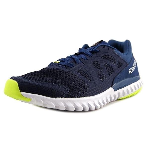 Reebok Twistform Blaze 2.0 MTM Men Round Toe Synthetic Blue Running Shoe 5c5add767