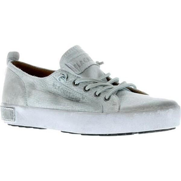 1e00c2c6ed Shop Blackstone Women s JL20 Leather Sneaker White Metallic Full Grain  Leather - Free Shipping Today - Overstock - 10388796
