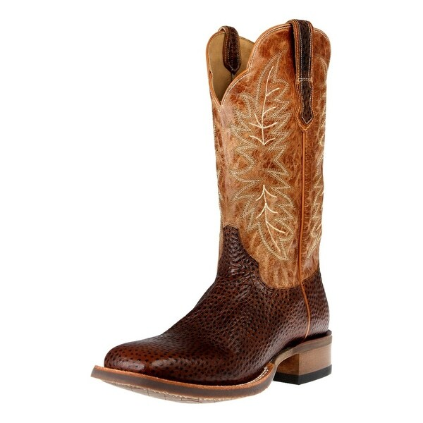 Cinch Western Boots Mens Grilladone Edge Horseman Chocolate