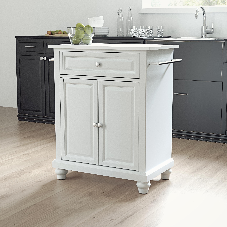 Cambridge Granite Top Portable Kitchen Island Cart 31 W X 18 D X 35 H Overstock 31290460
