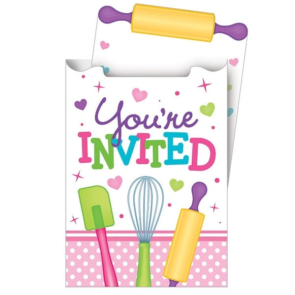 Shop Club Pack Of 48 Multicolored Youre Invited Party Invitation Cards
