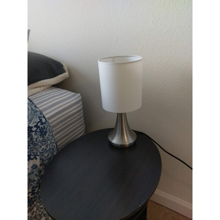 nightstand lamp with dimmer globall shop light accents touch table lamp 13