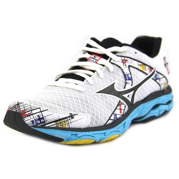 Mizuno Wave Inspire 10 Women D Round Toe Synthetic White Running Shoe