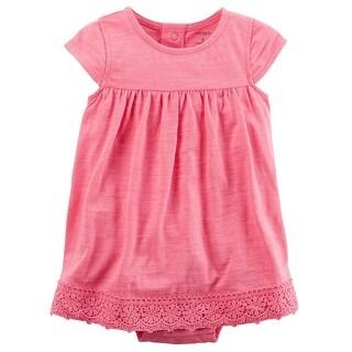 Carter's Baby Girls' 2-Piece Bodysuit Dress & Cardigan Set, 12 Months