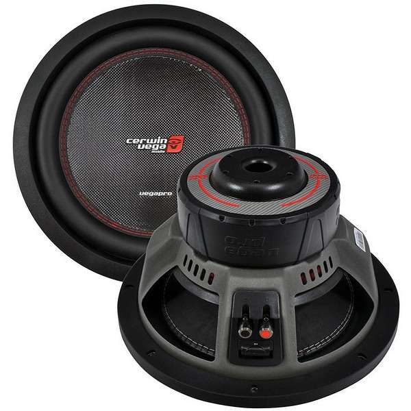 CERWIN VEGA VPRO154D Pro 1800 Watts Max 15-Inch Dual Voice Coil 4 Ohms/900 Watts Power Handling