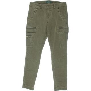 Ralph Lauren Womens Stretch Skinny Cargo Jeans