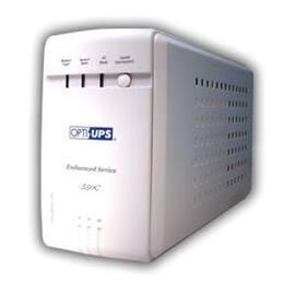 Opti-UPS ES550C USB Automatic Voltage Regulator AVR 6xOutlets USB 550VA 300W 4ms 110/120V 50/60Hz White Retail