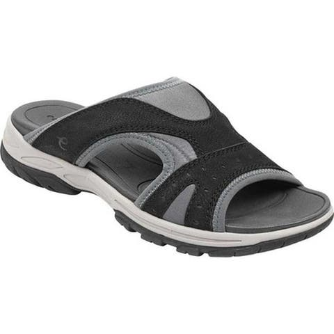 fbd6e6c1be82 Easy Spirit Women s Oceana Slide Sandal Black Morocco Lycra