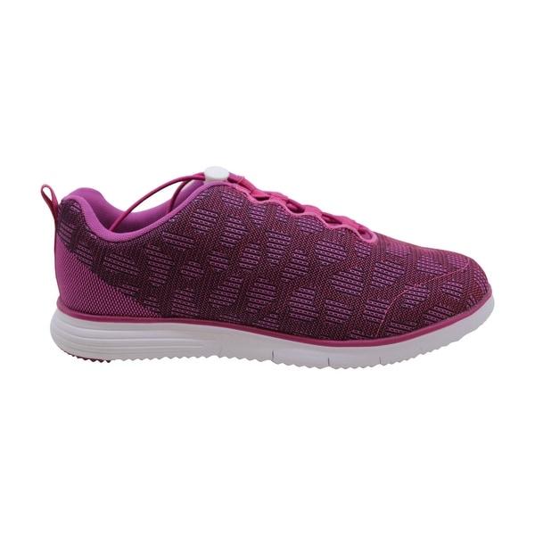 TravelFit Sneaker, Berry, 7.5 4E