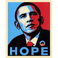 ''Obama: Hope'' by Anon African American Art Print (20 x 16 in.)