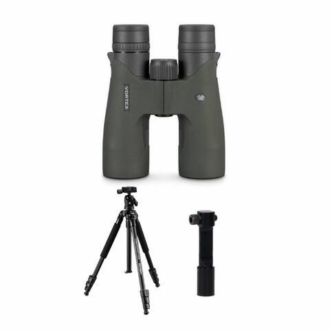 Vortex Razor UHD 8x42 Binoculars with Tripod and Uni-Daptor Bundle