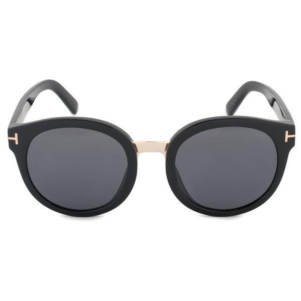 9351222477 Shop Tom Ford Round Sunglasses FT0478 01A 54 - Free Shipping Today ...