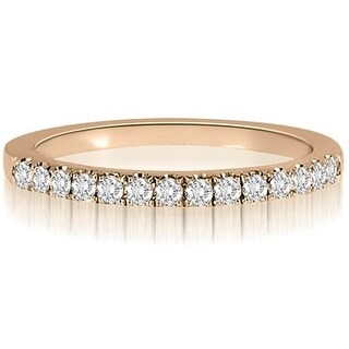 0.25 CT.TW Round Cut diamond Wedding Ring