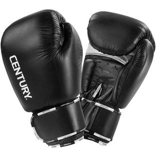 Century Creed Hook and Loop Sparring Boxing Gloves - Black/White