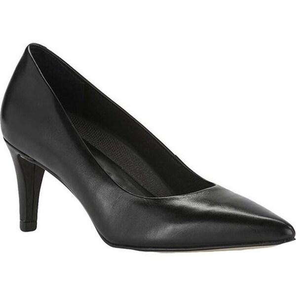 43ec8aebb1 Shop Walking Cradles Women's Sophia Pump Black Cashmere Leather ...