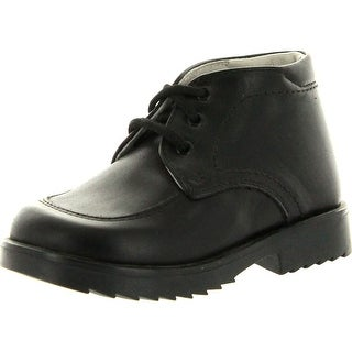 Simone Boys Pc329 Made In Italy Lace Up Casual Booties