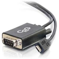 C2g/Cables To Go  29470 Usb 2.0 Usb-C To Db9 Serial Rs232 Adapter Cable (Taa Compliant)