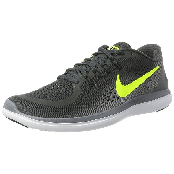 d1ad7ee2250 Shop Nike Men's Flex 2017 RN Running Shoe (7, 007 Anthracite/Volt ...