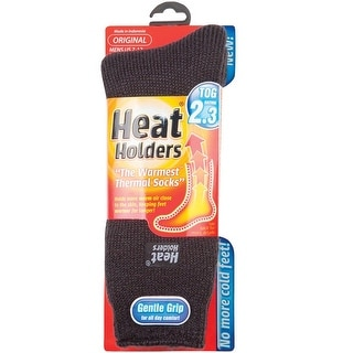 Heat Holders MHHORGCHA Mens Thermal Socks, Gray