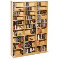 Atlantic 38435715 Oskar 1,080-Cd Multimedia Storage Cabinet
